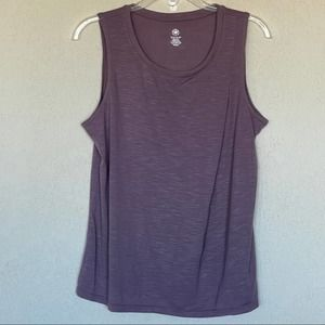 GAIAM Yoga top with pleat